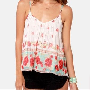 """Billabong """"Dare To Sun"""" Floral Top - Size S"""
